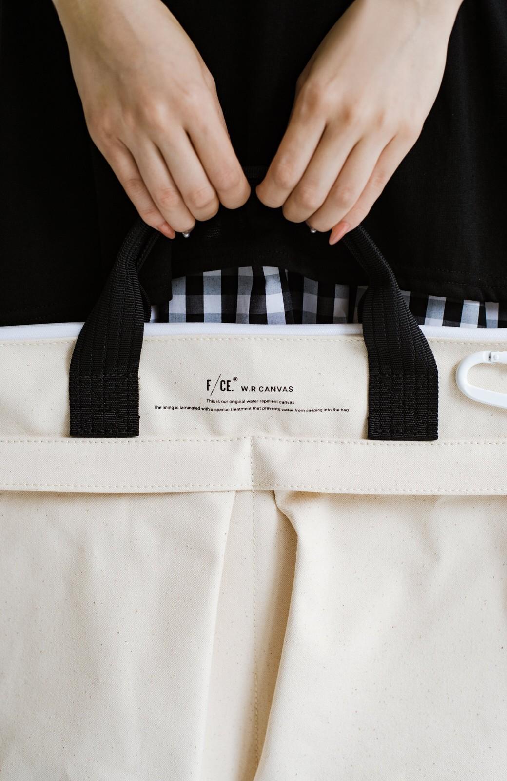 haco! F/CE.(エフシーイー) W.R CANVAS HELMET BAG <ブラック>の商品写真3