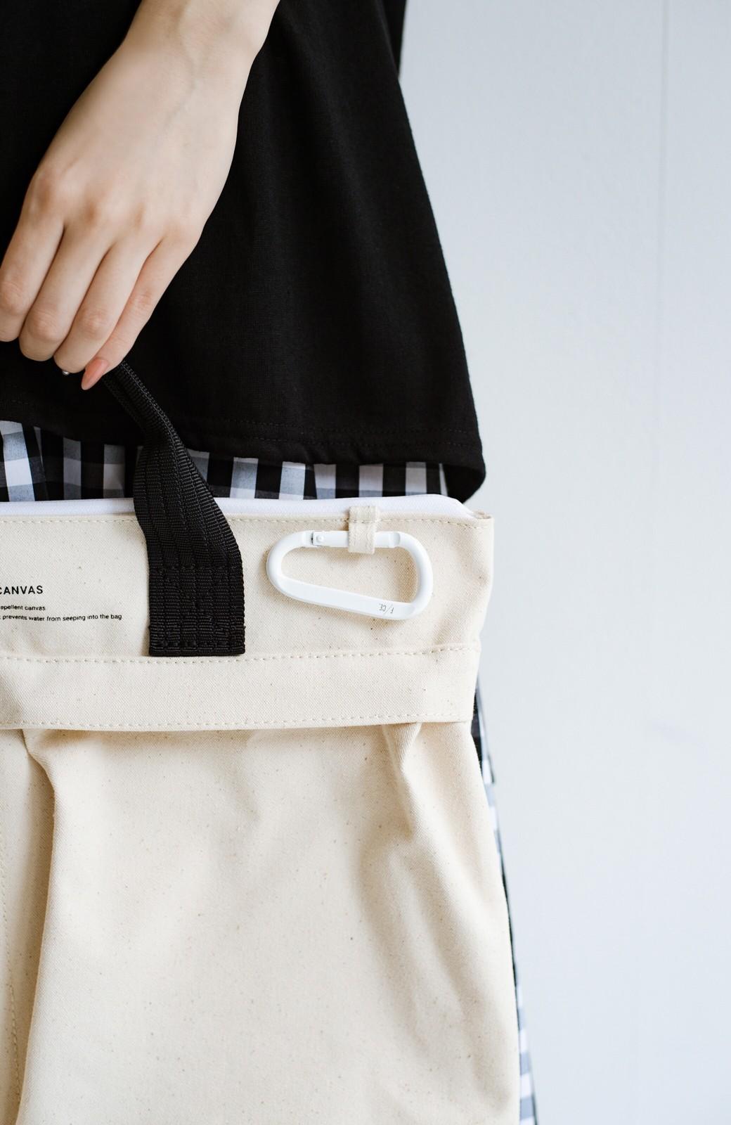 haco! F/CE.(エフシーイー) W.R CANVAS HELMET BAG <ブラック>の商品写真4