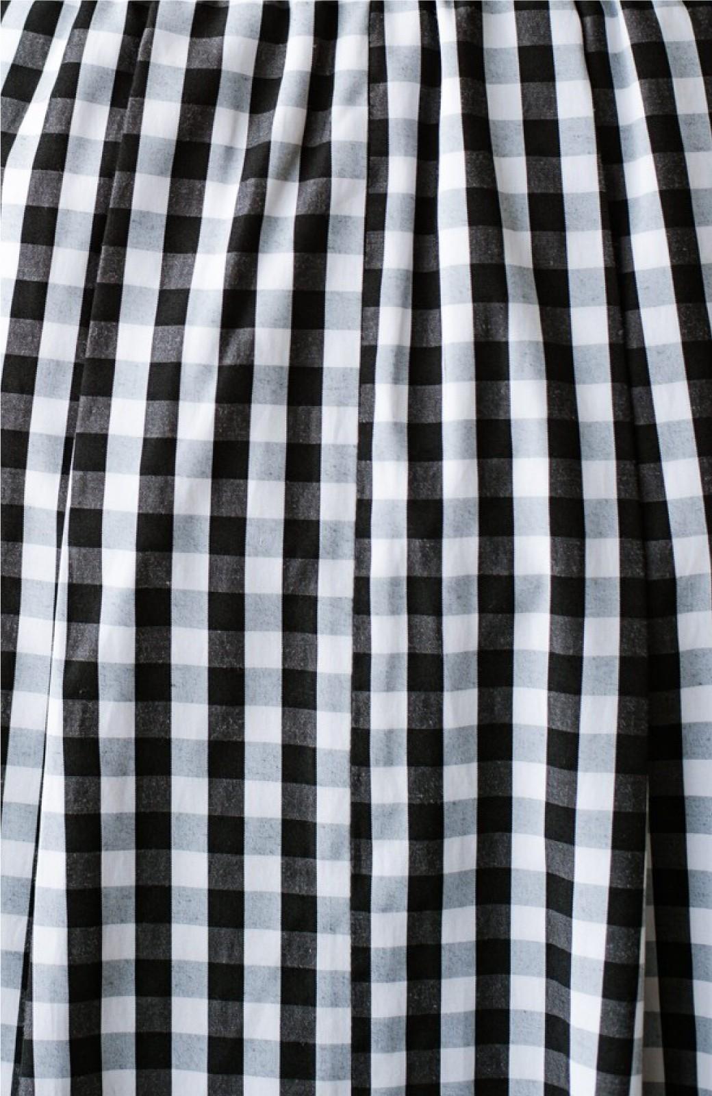 haco! カジュアルトップスと合わせても女っぽがかなう!気になる何もかもを隠してくれるマキシスカート by que made me <チェック>の商品写真33