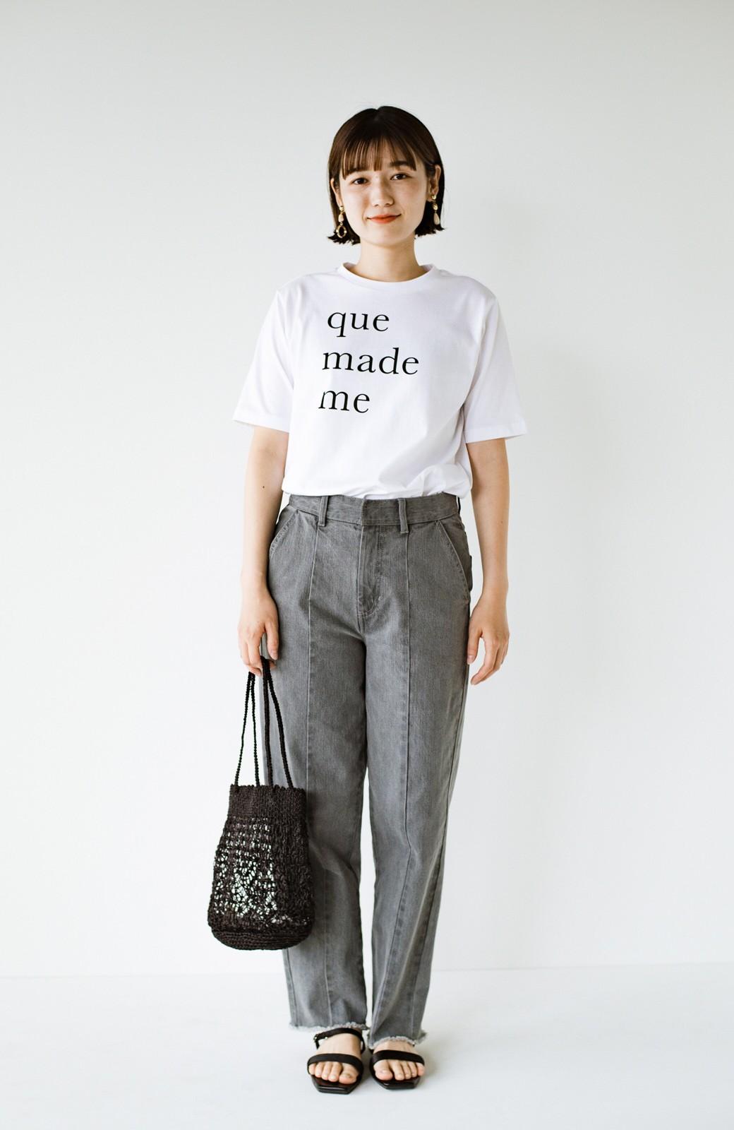 haco! 時間のない朝にもパッと出かけられる!元気が出るきれい色スカートにちょうどいいロゴTシャツを合わせておいた作り置きコーデセット by que made me <その他>の商品写真13