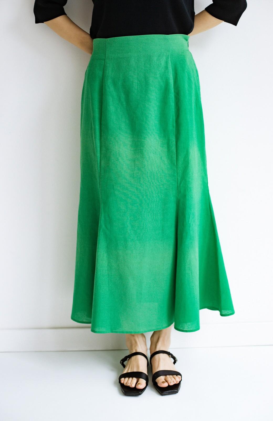 haco! 時間のない朝にもパッと出かけられる!元気が出るきれい色スカートにちょうどいいロゴTシャツを合わせておいた作り置きコーデセット by que made me <その他>の商品写真6