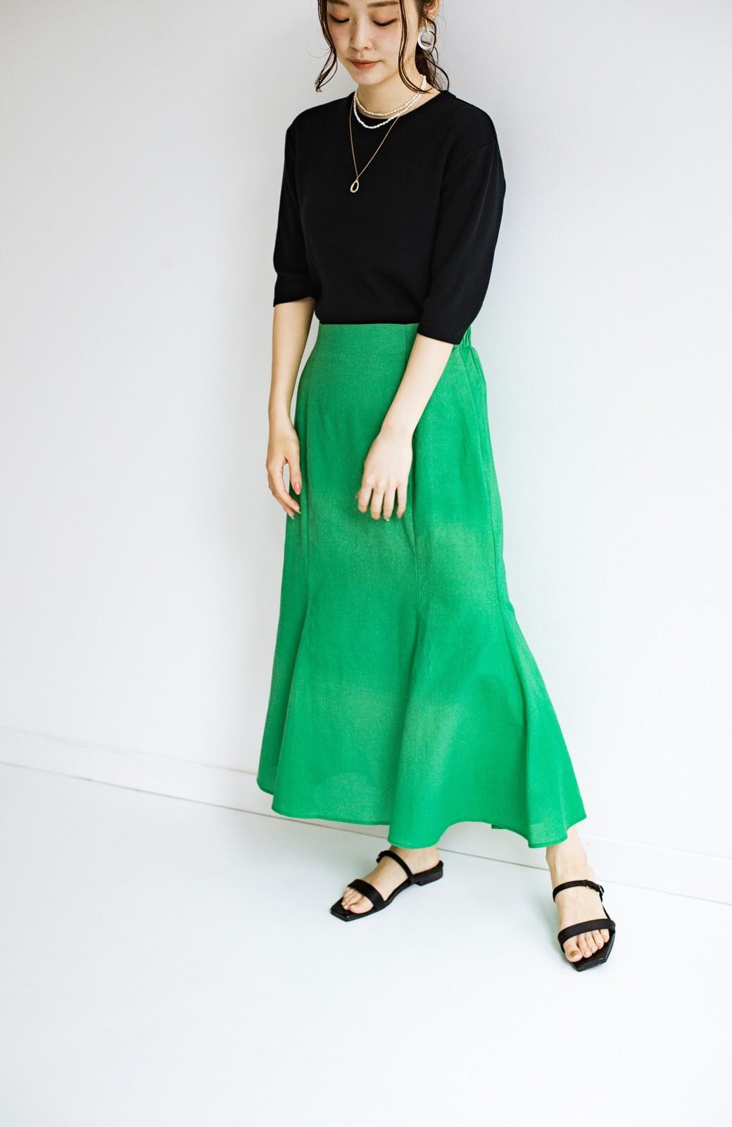 haco! 時間のない朝にもパッと出かけられる!元気が出るきれい色スカートにちょうどいいロゴTシャツを合わせておいた作り置きコーデセット by que made me <その他>の商品写真22