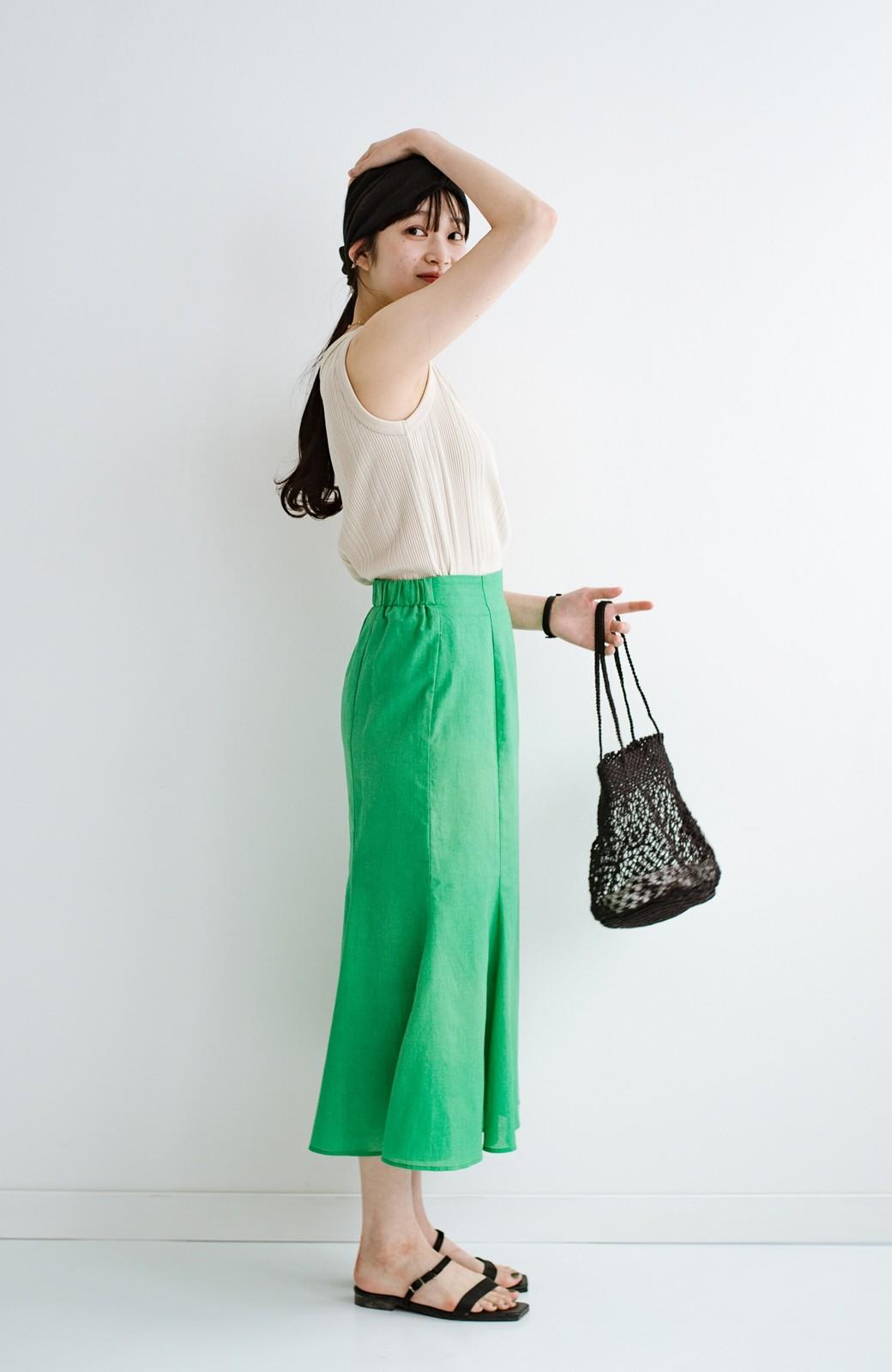 haco! 時間のない朝にもパッと出かけられる!元気が出るきれい色スカートにちょうどいいロゴTシャツを合わせておいた作り置きコーデセット by que made me <その他>の商品写真26