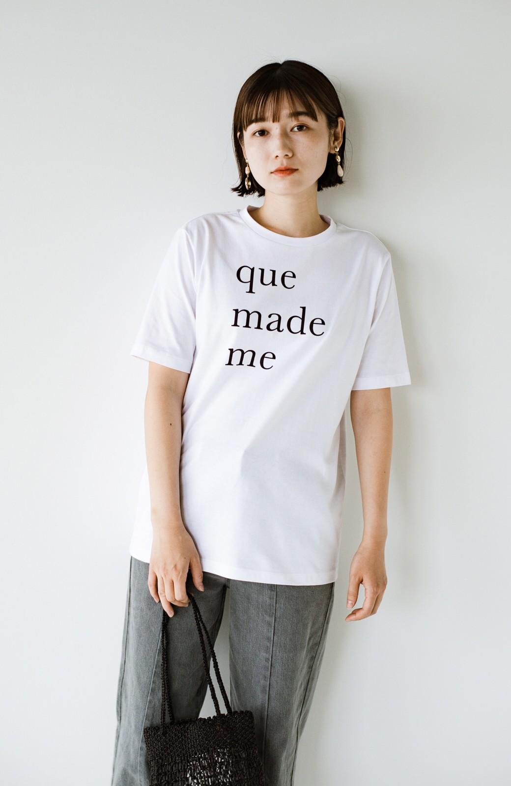 haco! 時間のない朝にもパッと出かけられる!元気が出るきれい色スカートにちょうどいいロゴTシャツを合わせておいた作り置きコーデセット by que made me <その他>の商品写真7