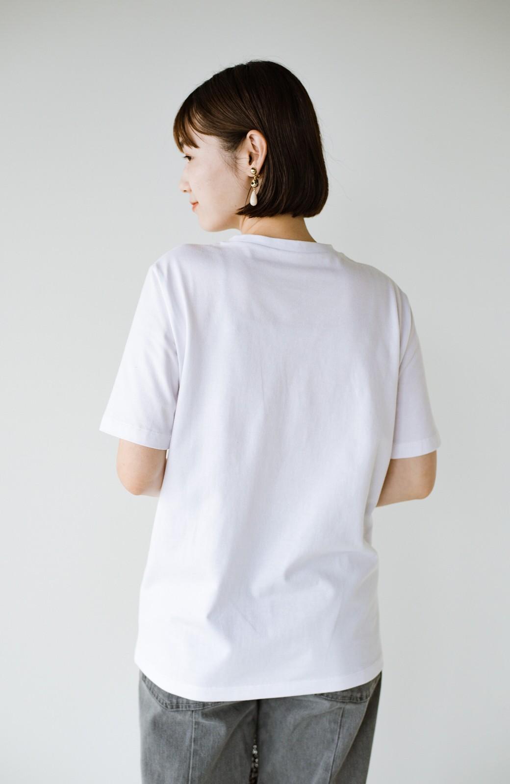 haco! 時間のない朝にもパッと出かけられる!元気が出るきれい色スカートにちょうどいいロゴTシャツを合わせておいた作り置きコーデセット by que made me <その他>の商品写真9
