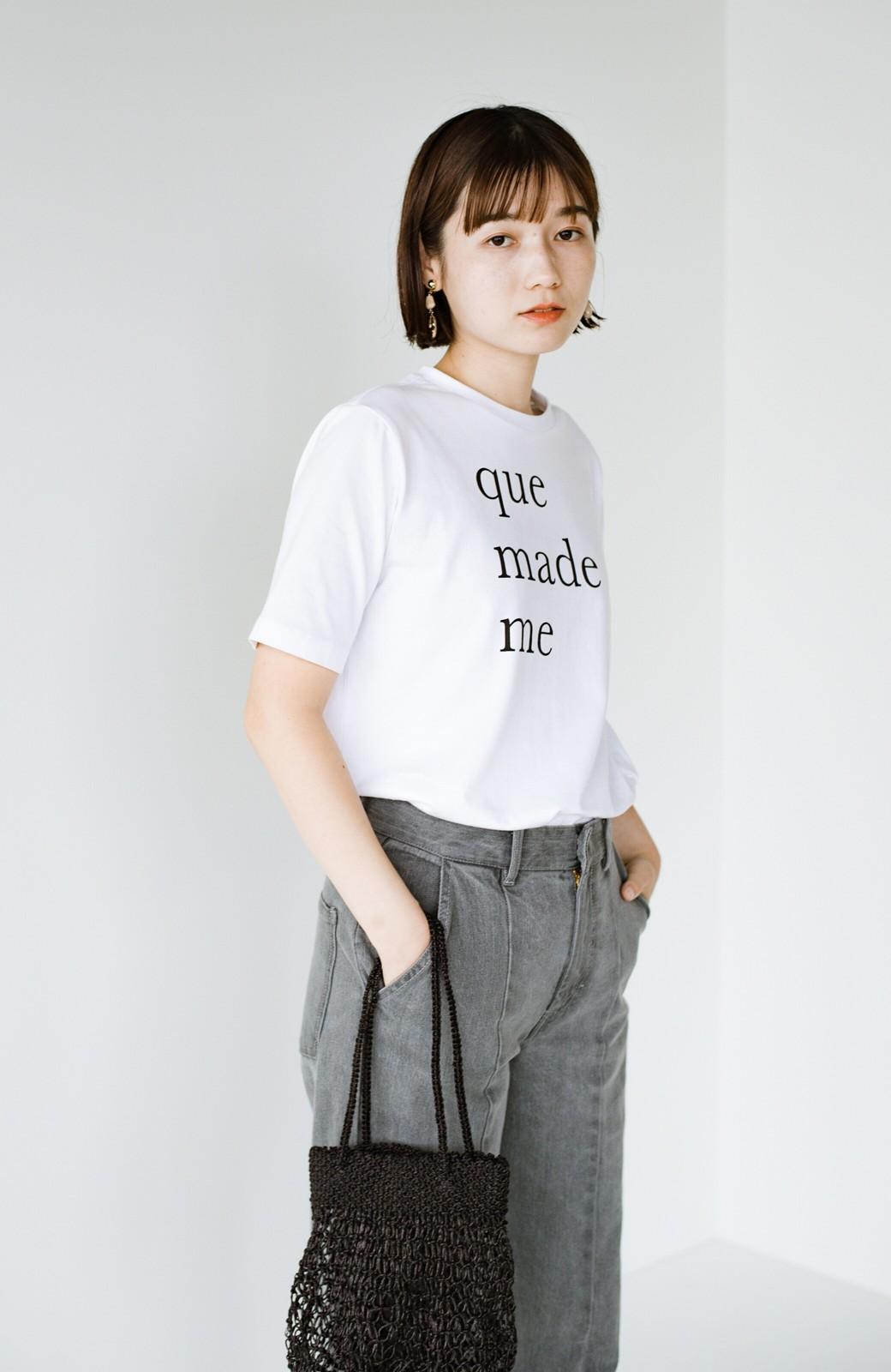 haco! 時間のない朝にもパッと出かけられる!元気が出るきれい色スカートにちょうどいいロゴTシャツを合わせておいた作り置きコーデセット by que made me <その他>の商品写真10
