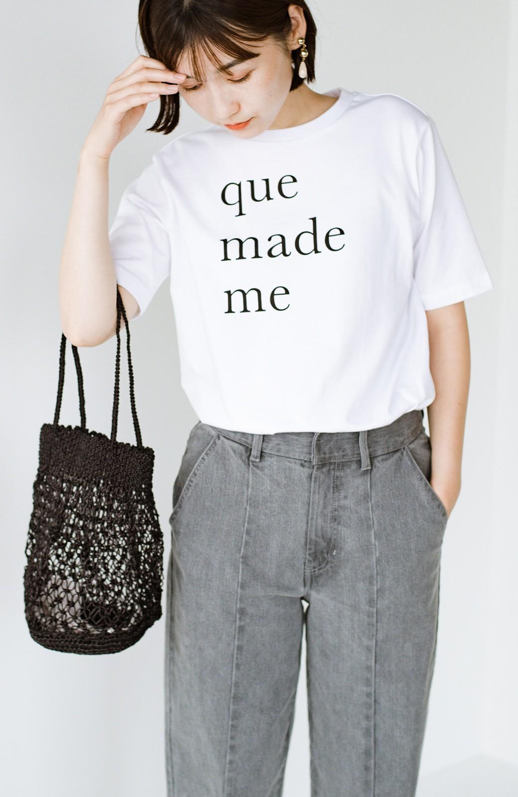 haco! 時間のない朝にもパッと出かけられる!元気が出るきれい色スカートにちょうどいいロゴTシャツを合わせておいた作り置きコーデセット by que made me <その他>の商品写真11