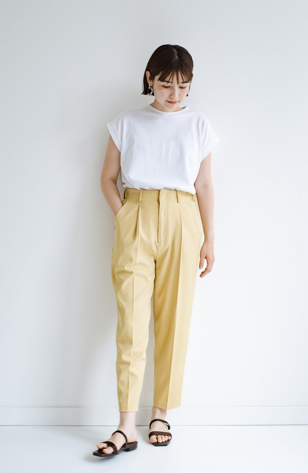haco! 迷った朝はこれ着よう!元気が出るきれい色パンツにちょい袖大人Tシャツを合わせておいた作り置きコーデセット by que made me <その他>の商品写真4