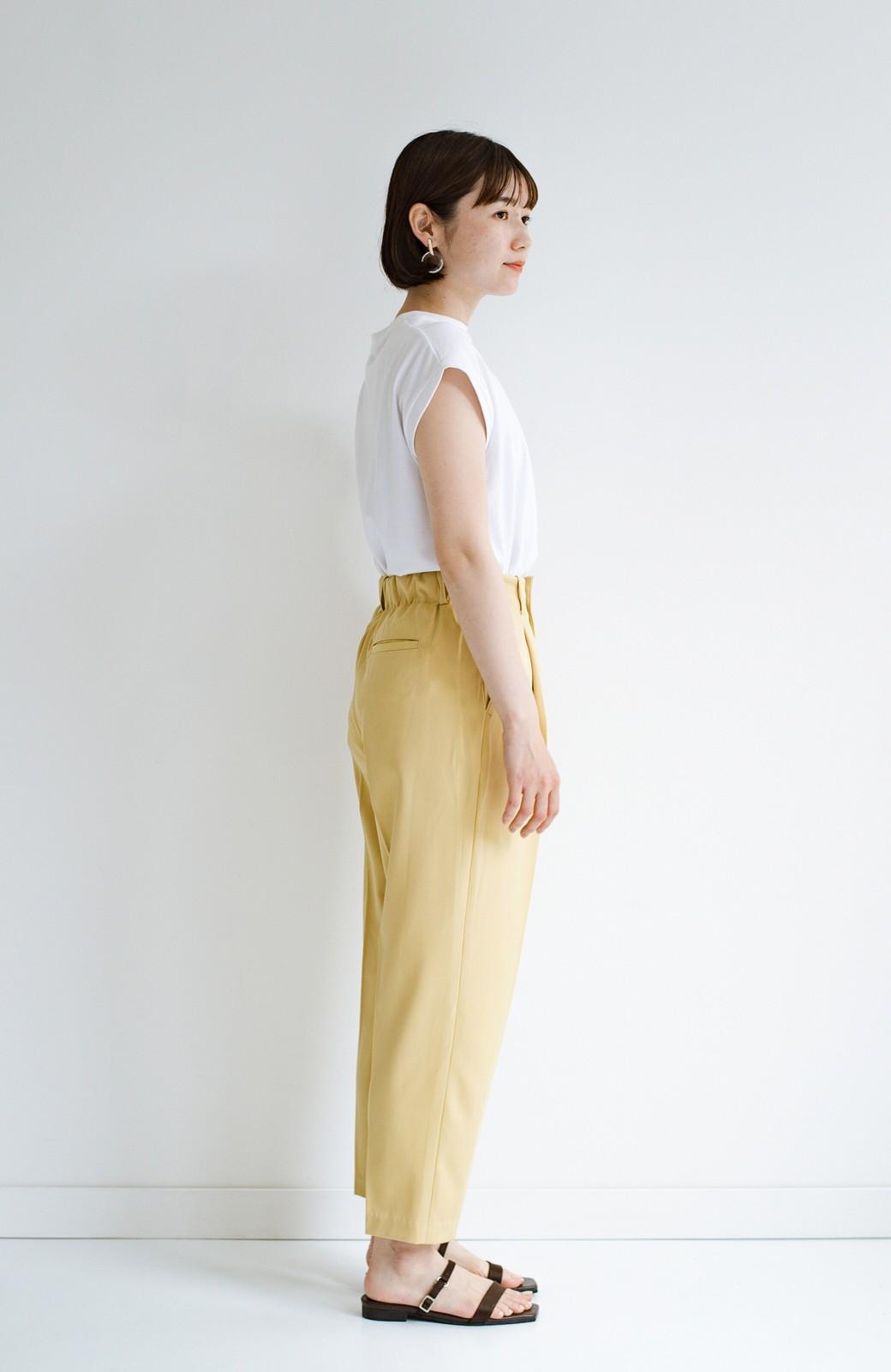 haco! 迷った朝はこれ着よう!元気が出るきれい色パンツにちょい袖大人Tシャツを合わせておいた作り置きコーデセット by que made me <その他>の商品写真6