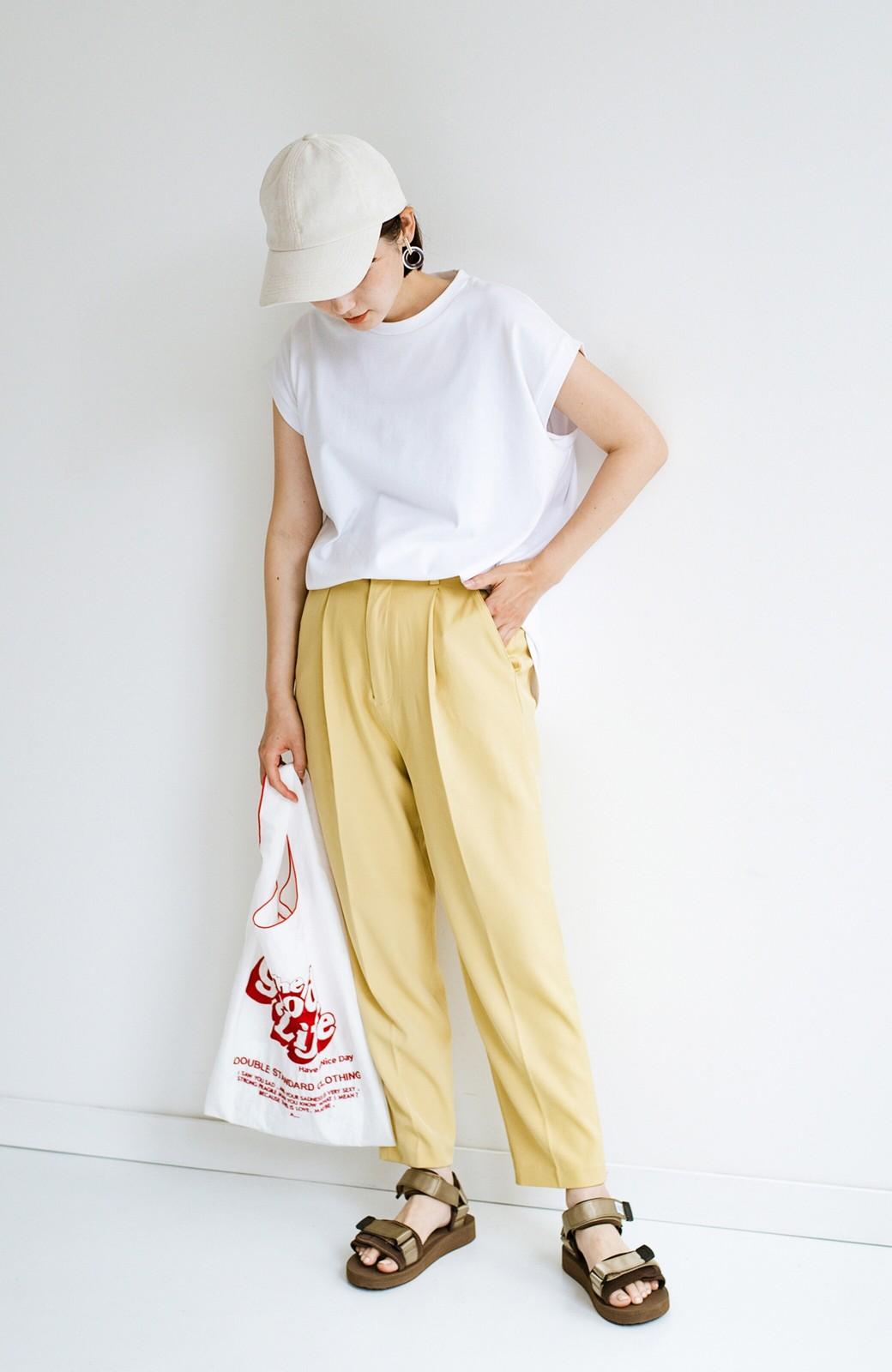 haco! 迷った朝はこれ着よう!元気が出るきれい色パンツにちょい袖大人Tシャツを合わせておいた作り置きコーデセット by que made me <その他>の商品写真8