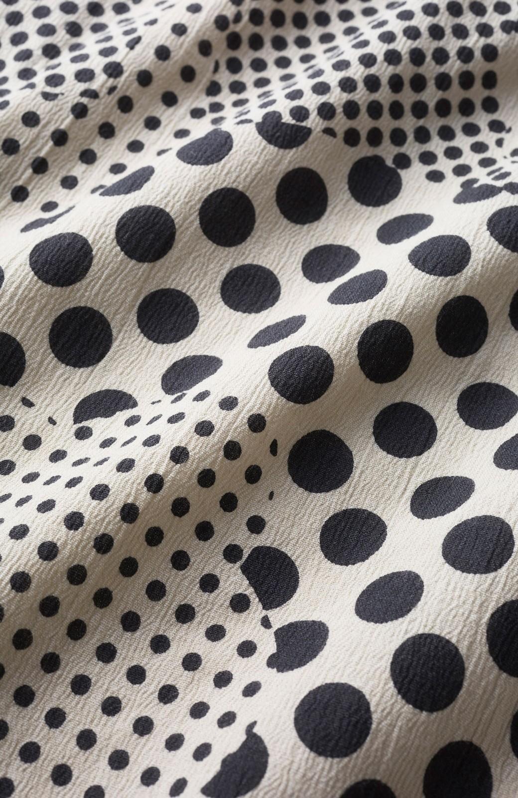 haco! ひでや工房 京都の綿ちりめん浴衣 <ベージュ>の商品写真3