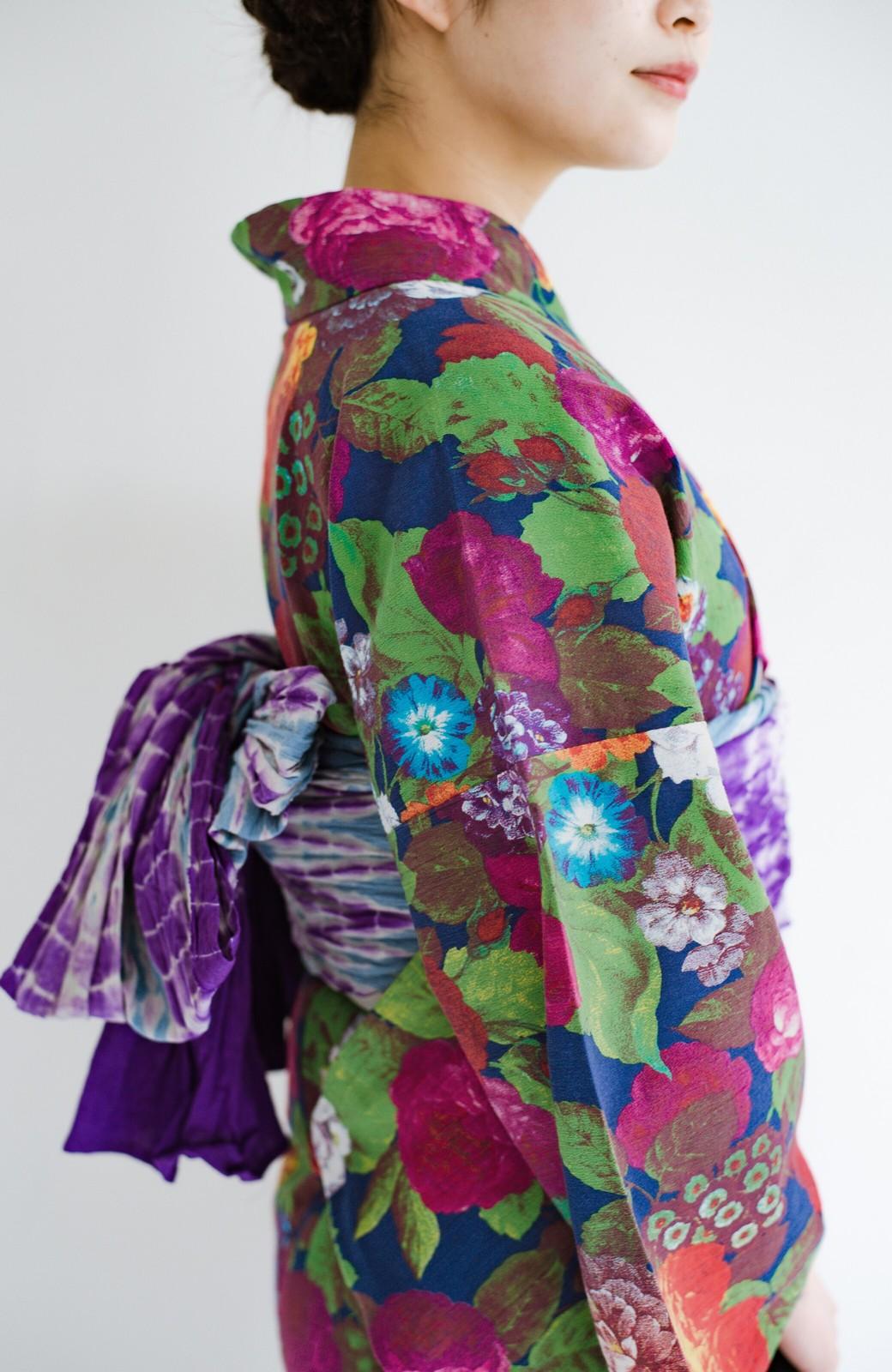 haco! ひでや工房 京都の綿ちりめん浴衣 <カラフル>の商品写真7