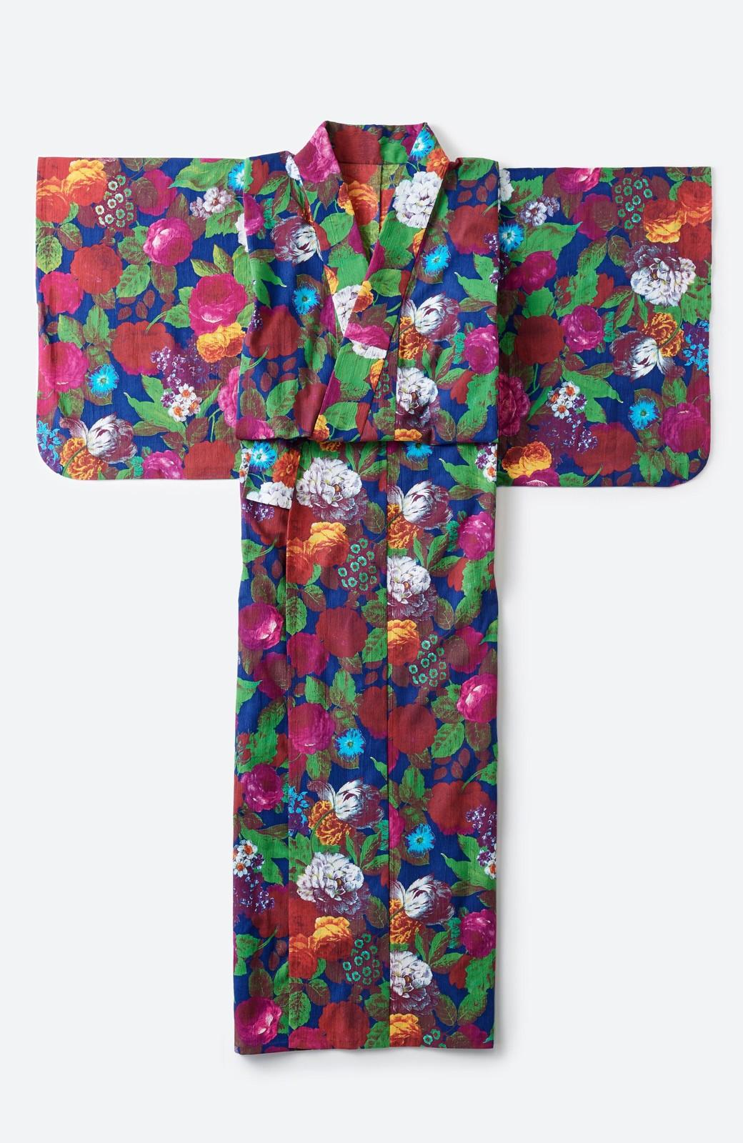 haco! ひでや工房 京都の綿ちりめん浴衣 <カラフル>の商品写真2