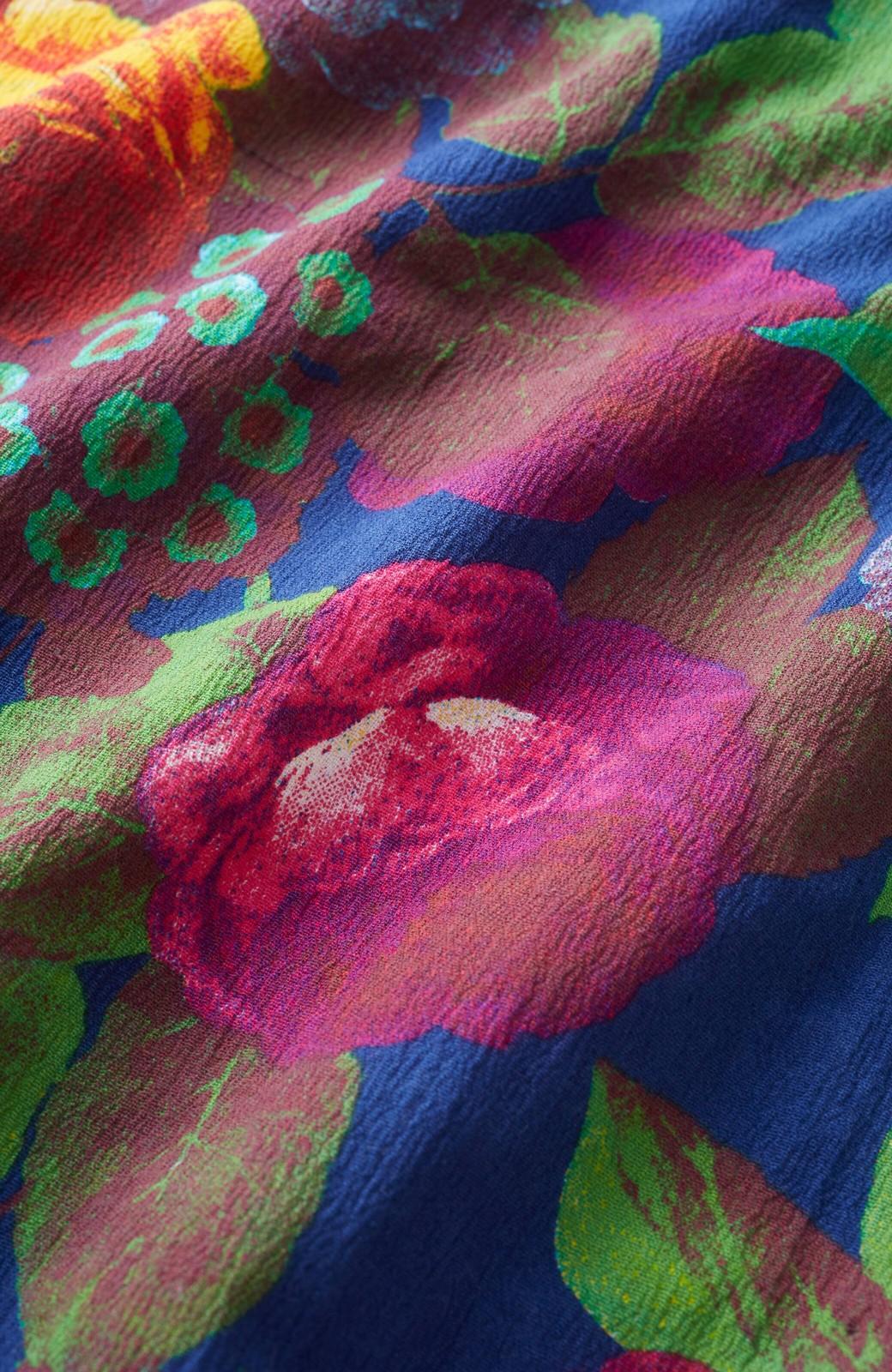 haco! ひでや工房 京都の綿ちりめん浴衣 <カラフル>の商品写真3