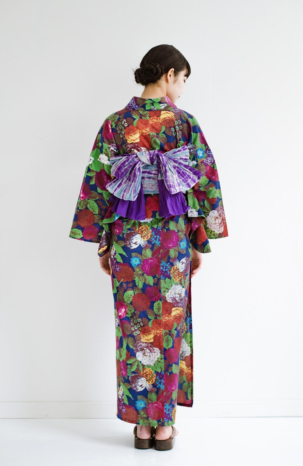 haco! ひでや工房 京都の綿ちりめん浴衣 <カラフル>の商品写真14
