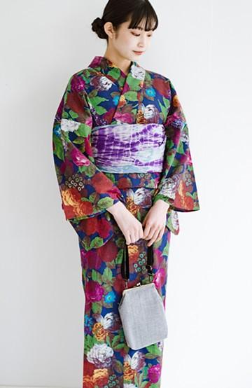 haco! ひでや工房 京都の綿ちりめん浴衣<カラフル>の商品写真