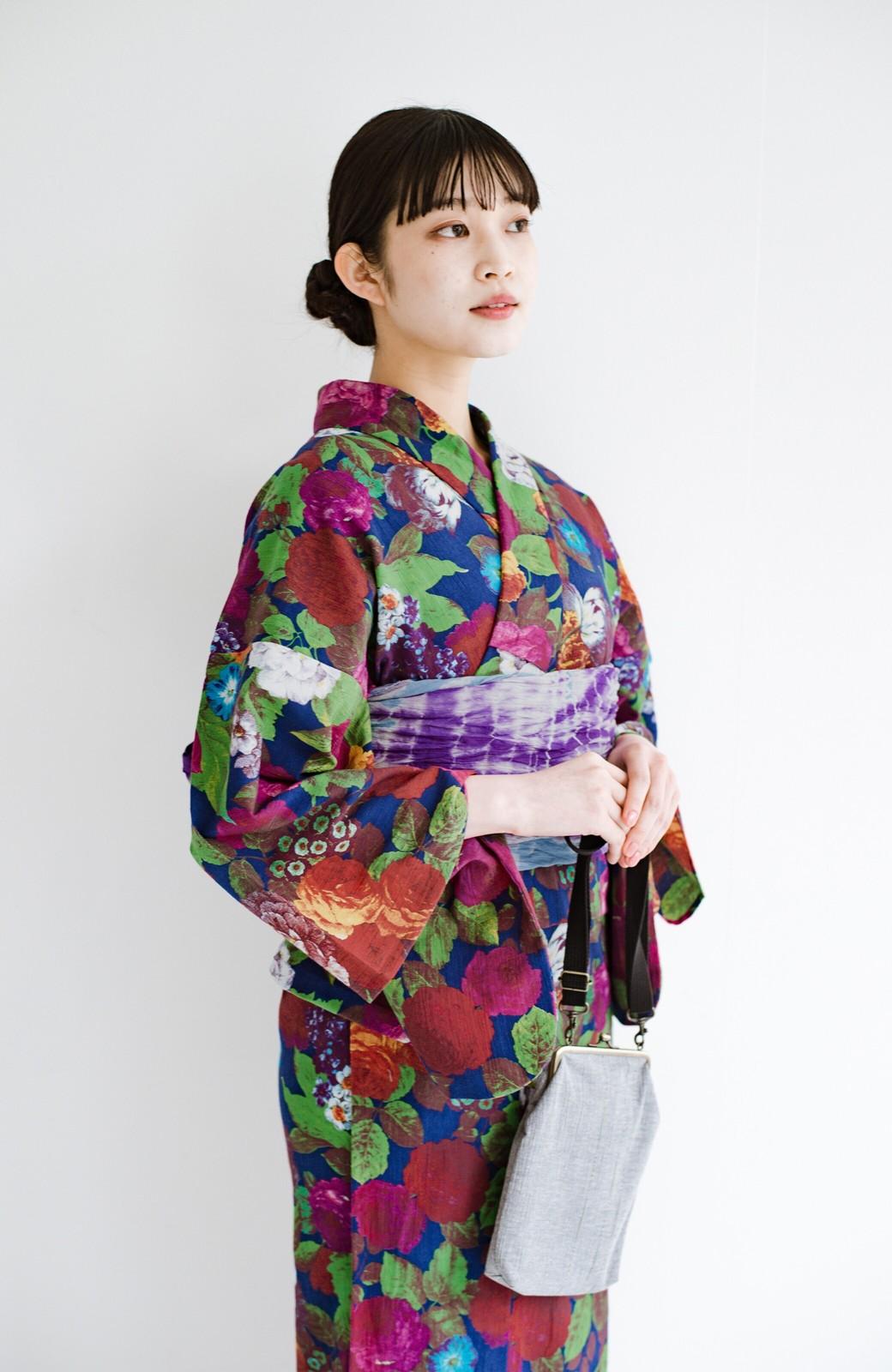 haco! ひでや工房 京都の綿ちりめん浴衣 <カラフル>の商品写真15
