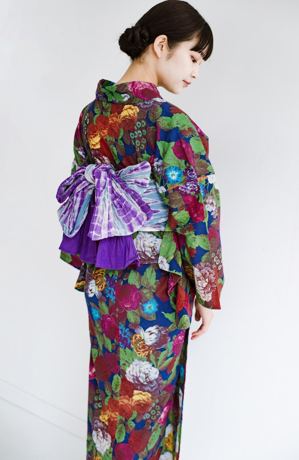 haco! ひでや工房 京都の綿ちりめん浴衣 <カラフル>の商品写真16