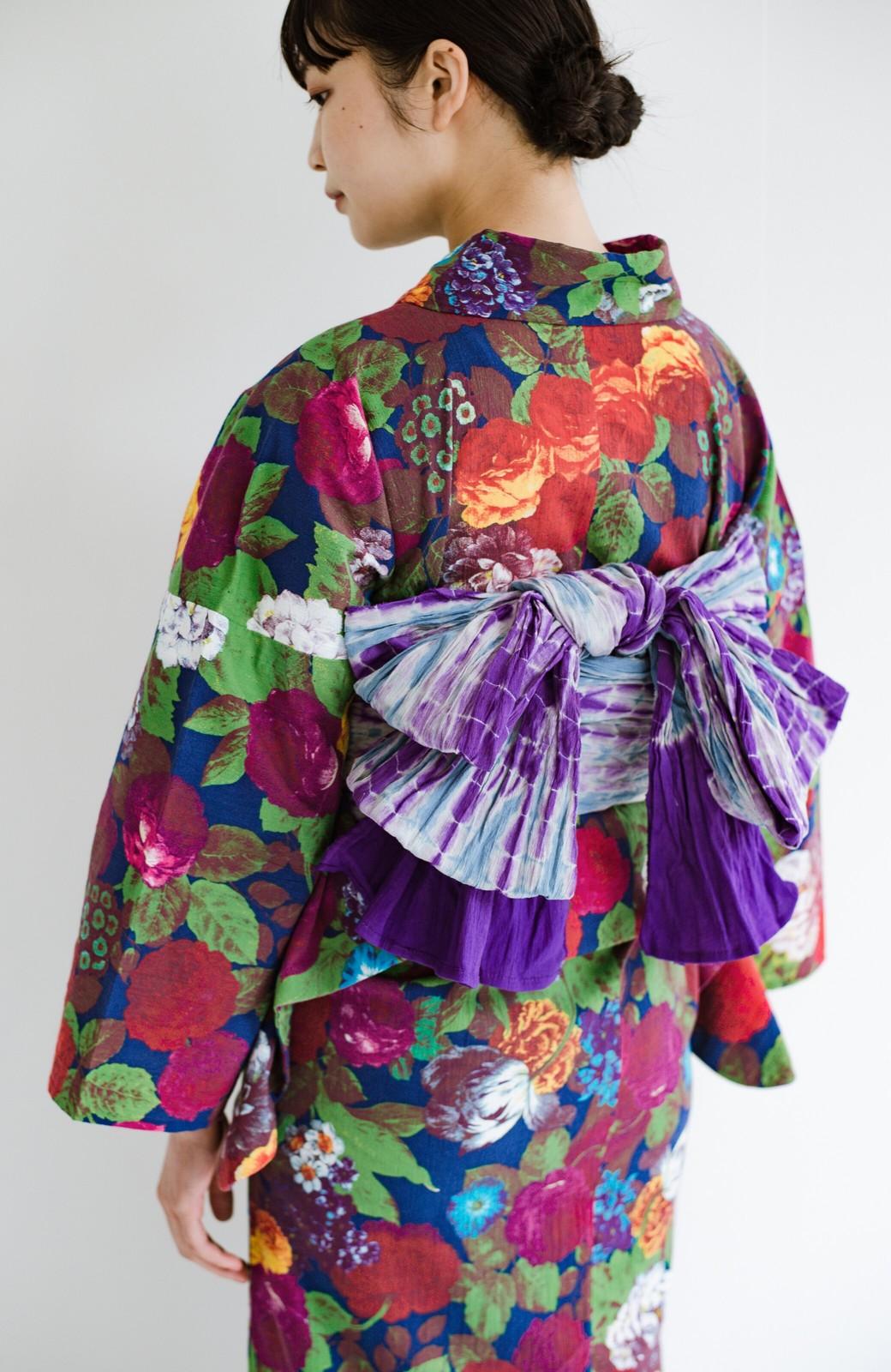 haco! ひでや工房 京都の綿ちりめん浴衣 <カラフル>の商品写真17