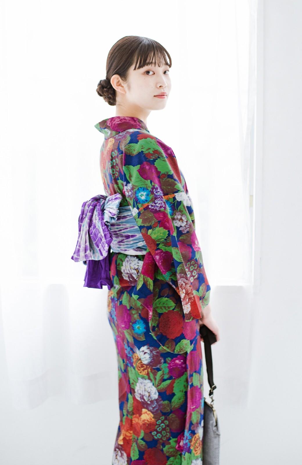 haco! ひでや工房 京都の綿ちりめん浴衣 <カラフル>の商品写真18