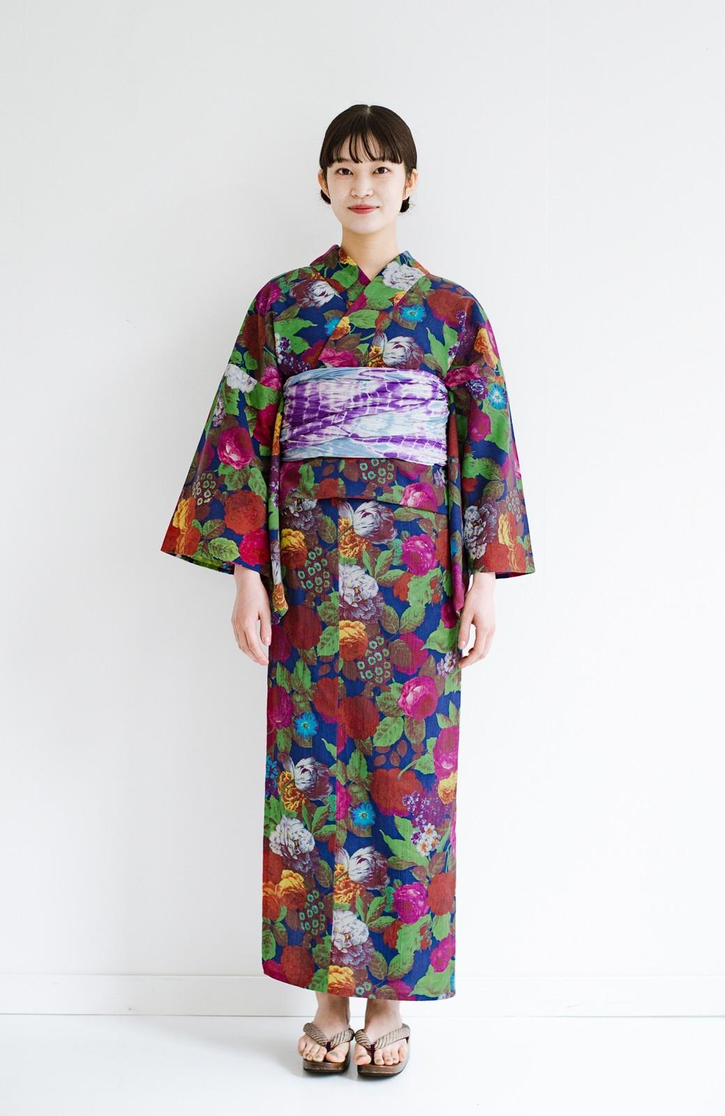haco! ひでや工房 京都の綿ちりめん浴衣 <カラフル>の商品写真10