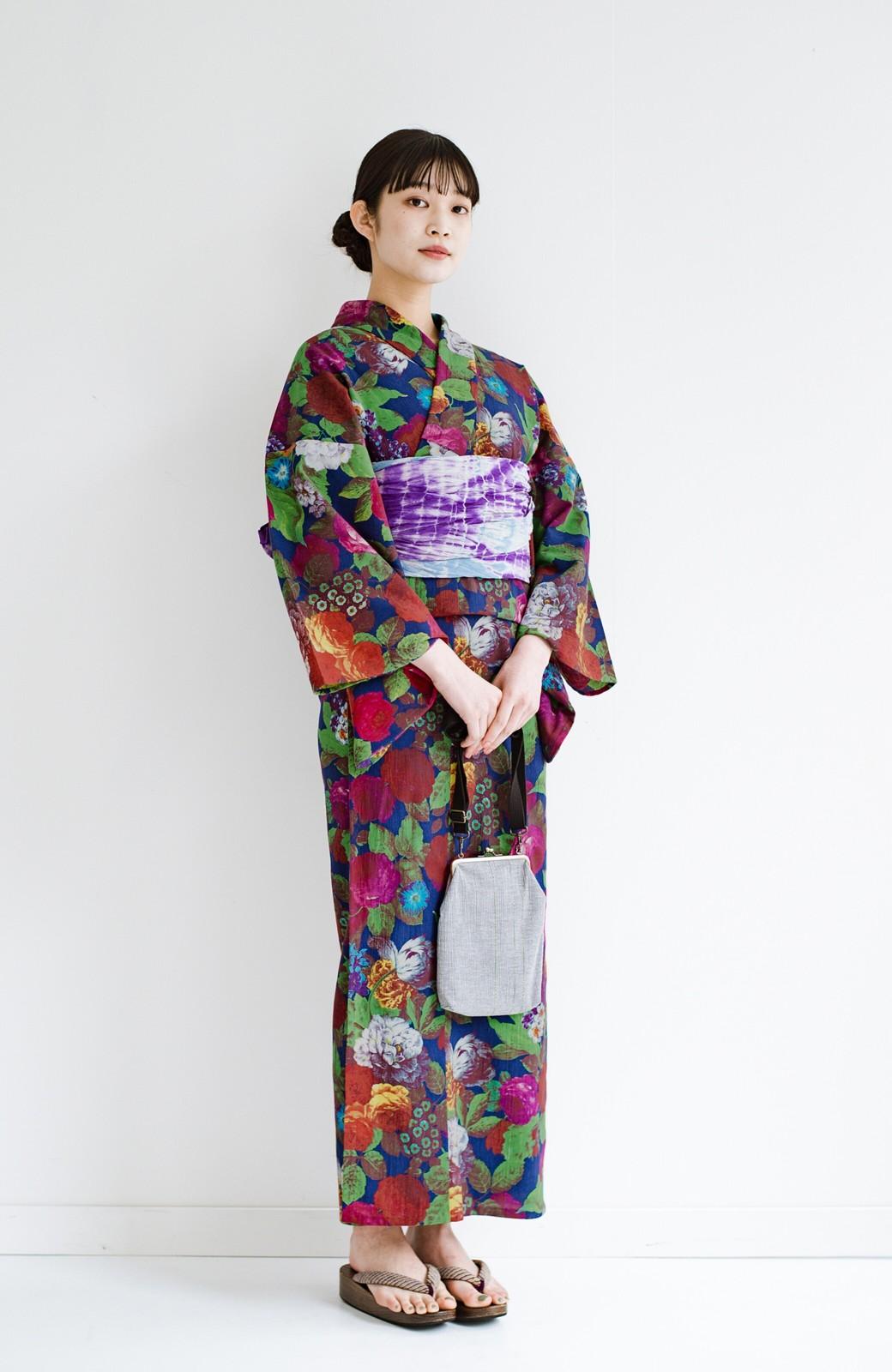 haco! ひでや工房 京都の綿ちりめん浴衣 <カラフル>の商品写真4