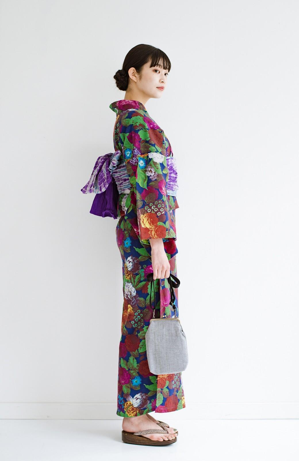haco! ひでや工房 京都の綿ちりめん浴衣 <カラフル>の商品写真11