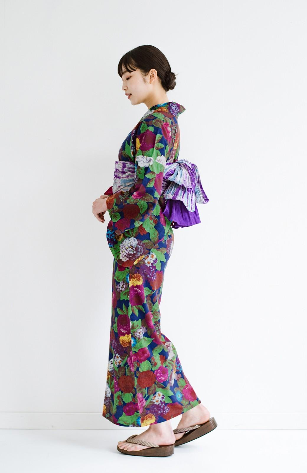 haco! ひでや工房 京都の綿ちりめん浴衣 <カラフル>の商品写真12