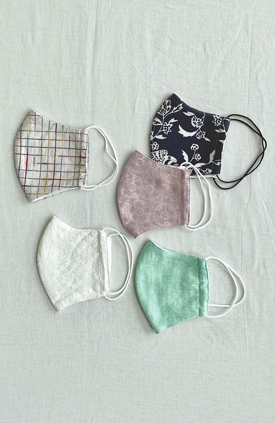 haco! ひでや工房 京都の綿ちりめん浴衣 <カラフル>の商品写真19