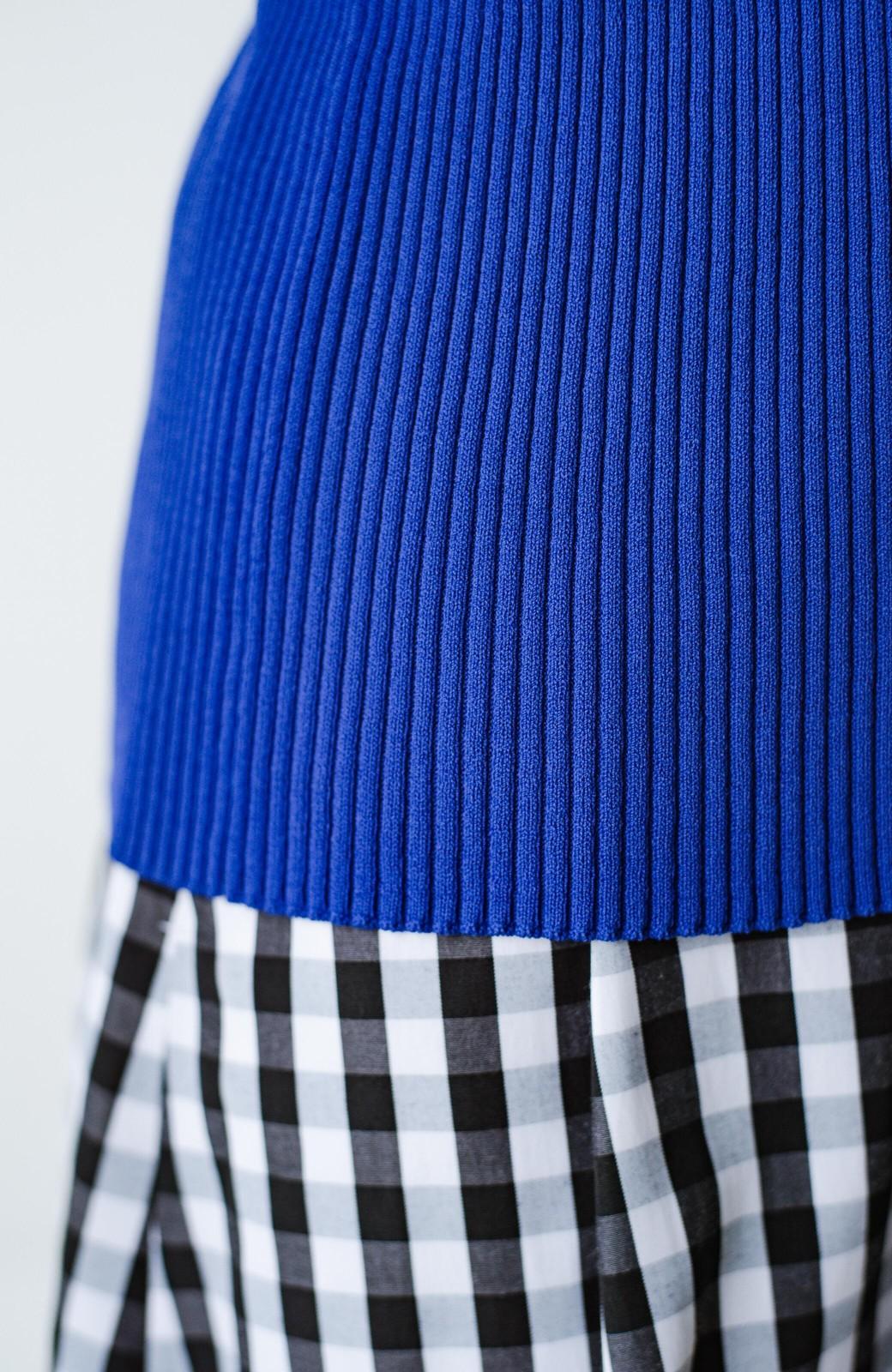 haco! UVカット&肩にかけるだけでもコーデが華やぐ 持っていると便利なきれい色カーディガン by que made me <ブルー>の商品写真6