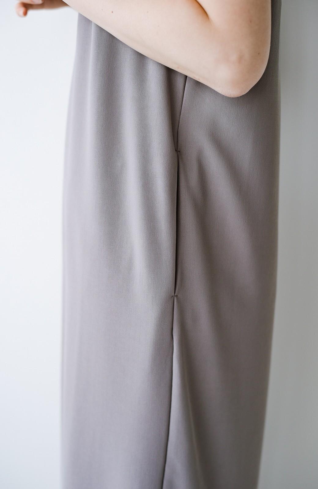 haco! 暑いねと寒いねを言い合える 続く日々がしあわせ どんな日にも寄り添うジャンパースカート by you made me <ライトグレー>の商品写真22