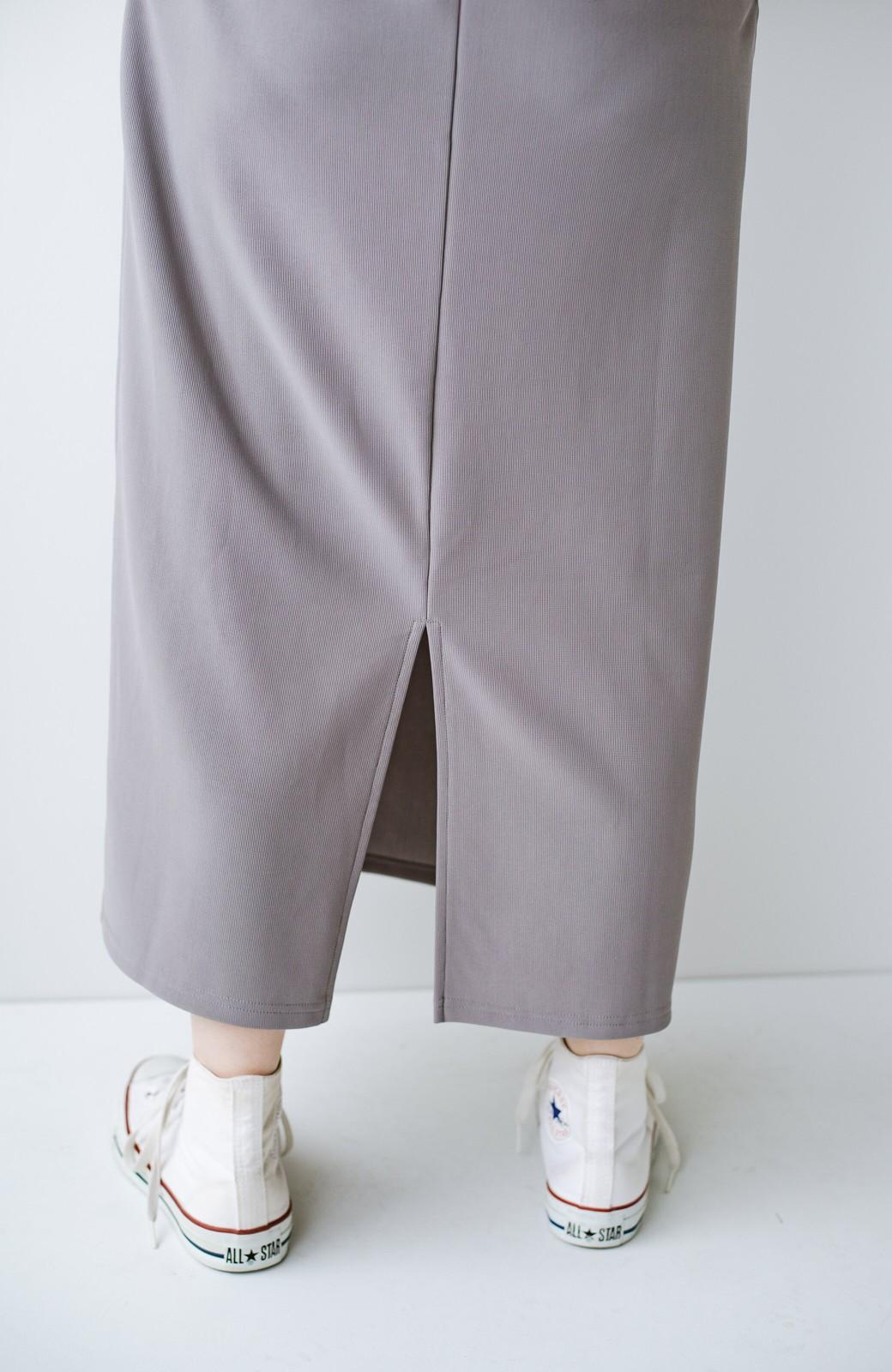 haco! 暑いねと寒いねを言い合える 続く日々がしあわせ どんな日にも寄り添うジャンパースカート by you made me <ライトグレー>の商品写真9