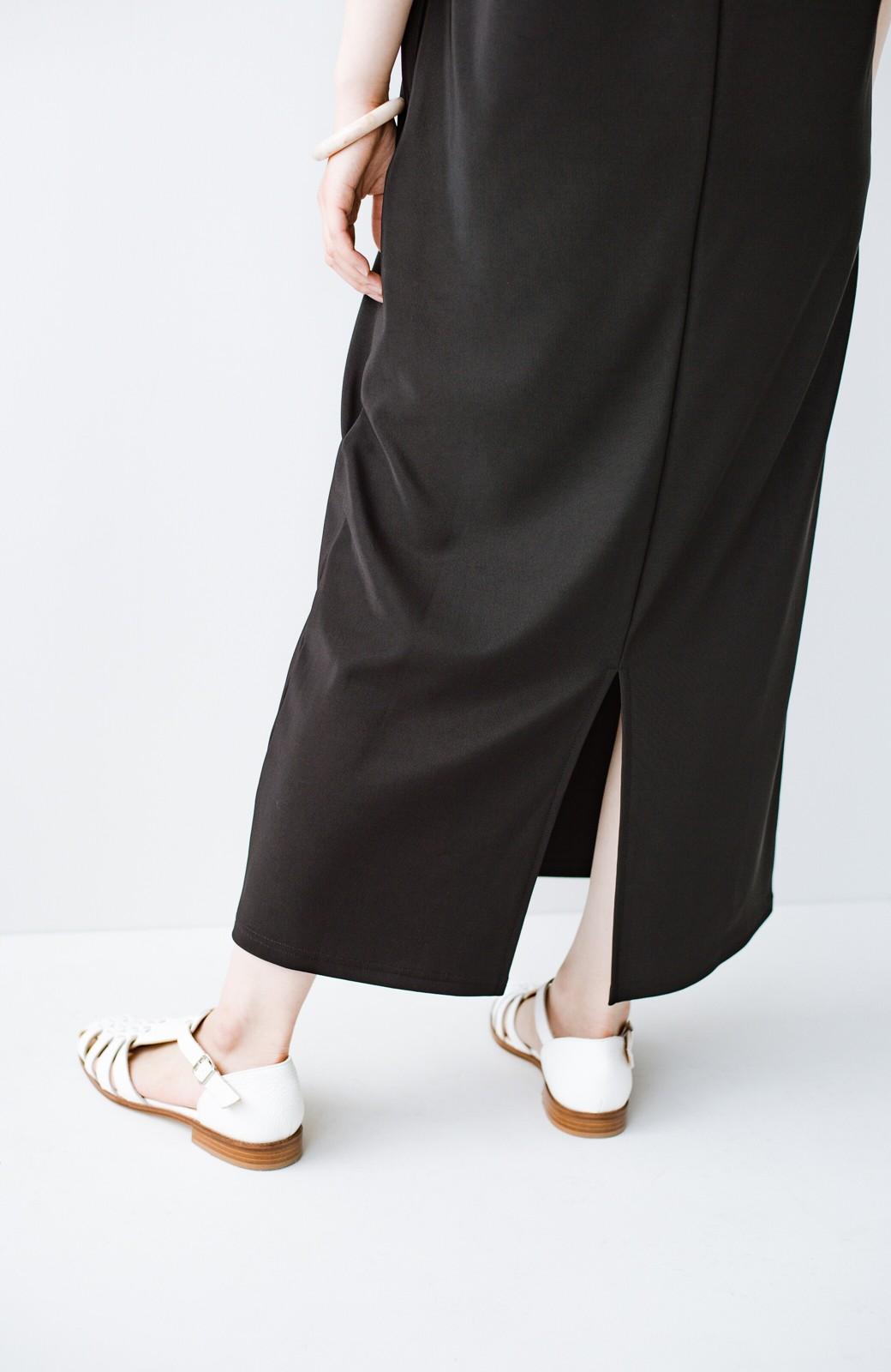haco! 暑いねと寒いねを言い合える 続く日々がしあわせ どんな日にも寄り添うジャンパースカート by you made me <ブラック>の商品写真9